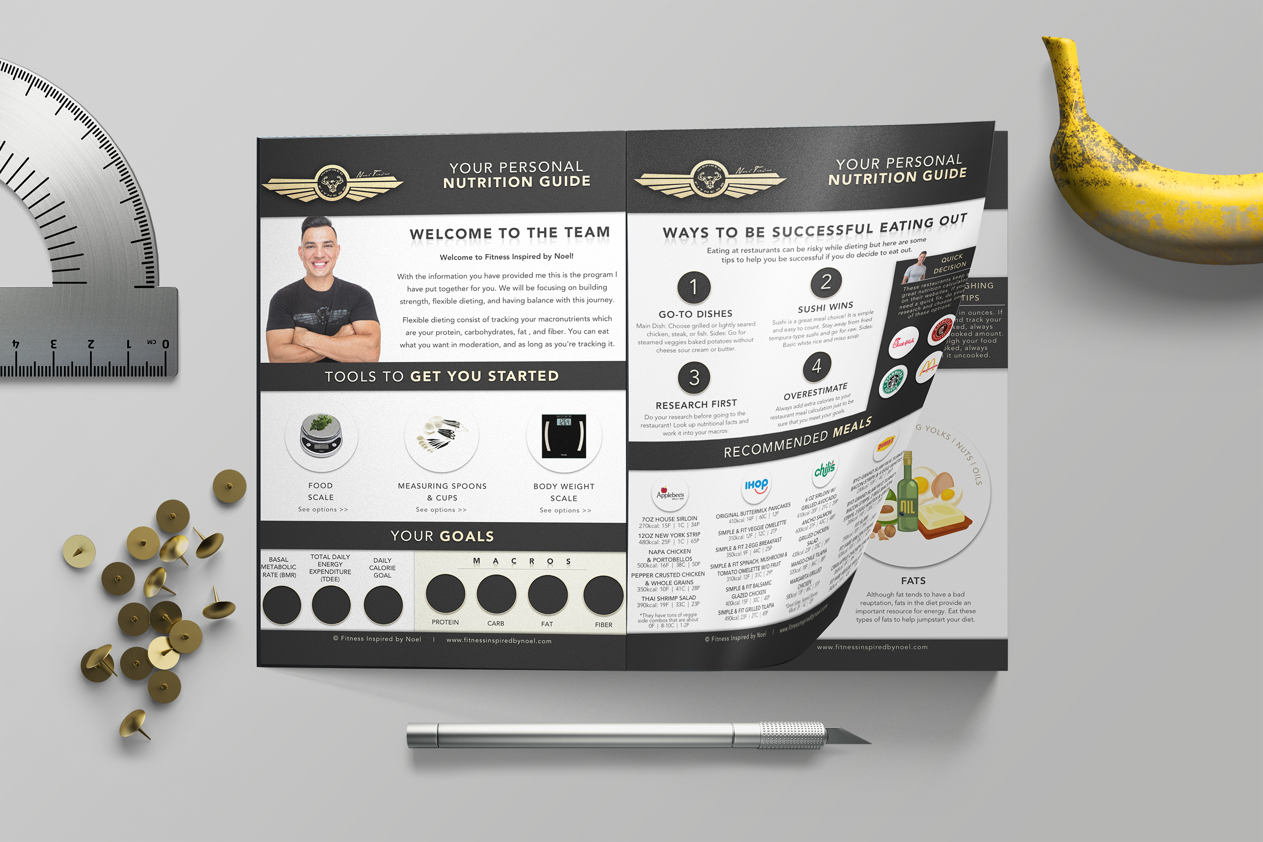 Graphic Design Image of a Brochure Design